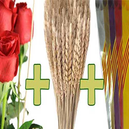 Comprar Roses Vermelles a Granel Preparades per Sant Jordi